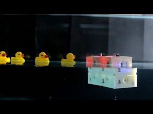 Lego-like underwater robot