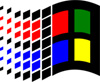 Early Windows logo