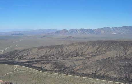 Investigating the flow of radioactive material through the Yucca Mountain